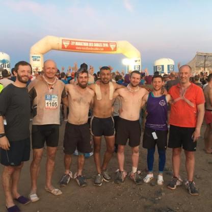 Marathon Des Sables tent crew