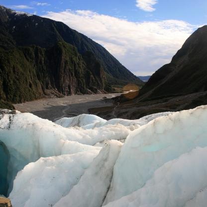New Zealand - Fox Glacier, valley