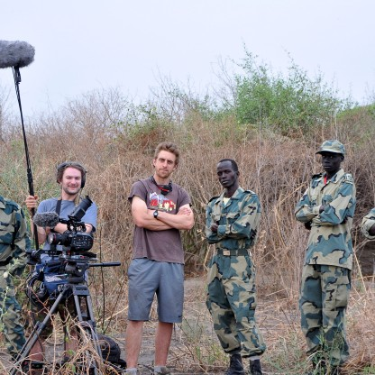 Ethiopia - George and I with the Rangers